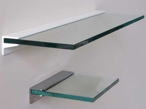glass shelf floating glass shelves - glass floating shelves bunnings KYHVUPL