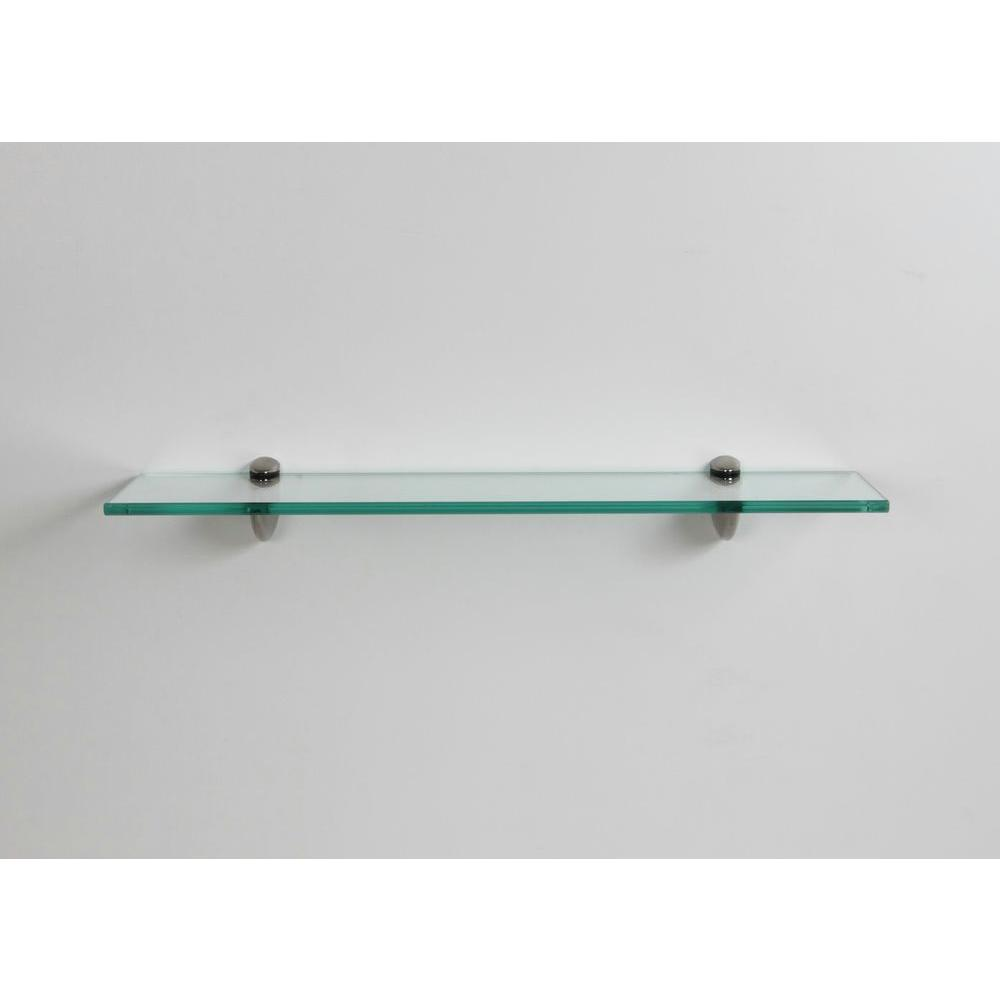 glass shelf lewis hyman 24 in. w x 6.25 in d x 2.6 TRMSEHR