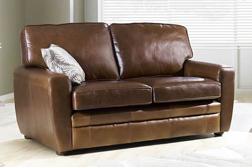 Brown Leather Sofa Bed Sleeper Sofas Ashley Furniture Home