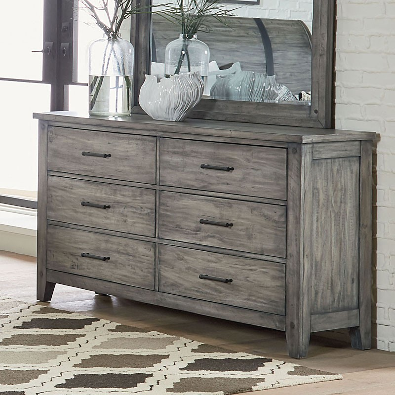Charmant Grey Dressers Nelson Dresser (grey) PEYAKUH