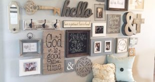 home decor ıdeas diy farmhouse style decor ideas - entryway gallery wall - rustic OSOIRET