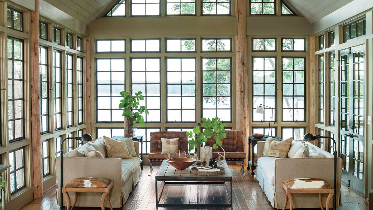 home decor ıdeas lake house decorating ideas - southern living PWXVPKM