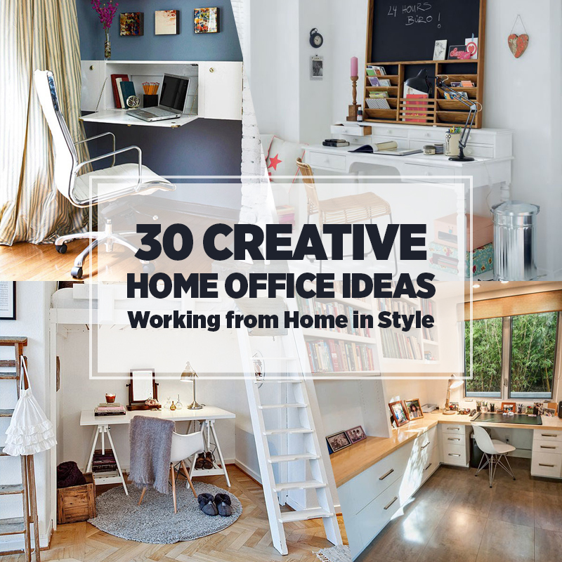 home office decorating ıdeas collect this idea creative-home-office-ideas OXZWUSZ