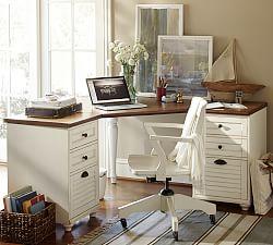home office desk whitney corner desk set ... KOIHVOR