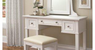 home styles naples bedroom vanity table - white | hayneedle UVHBKVN