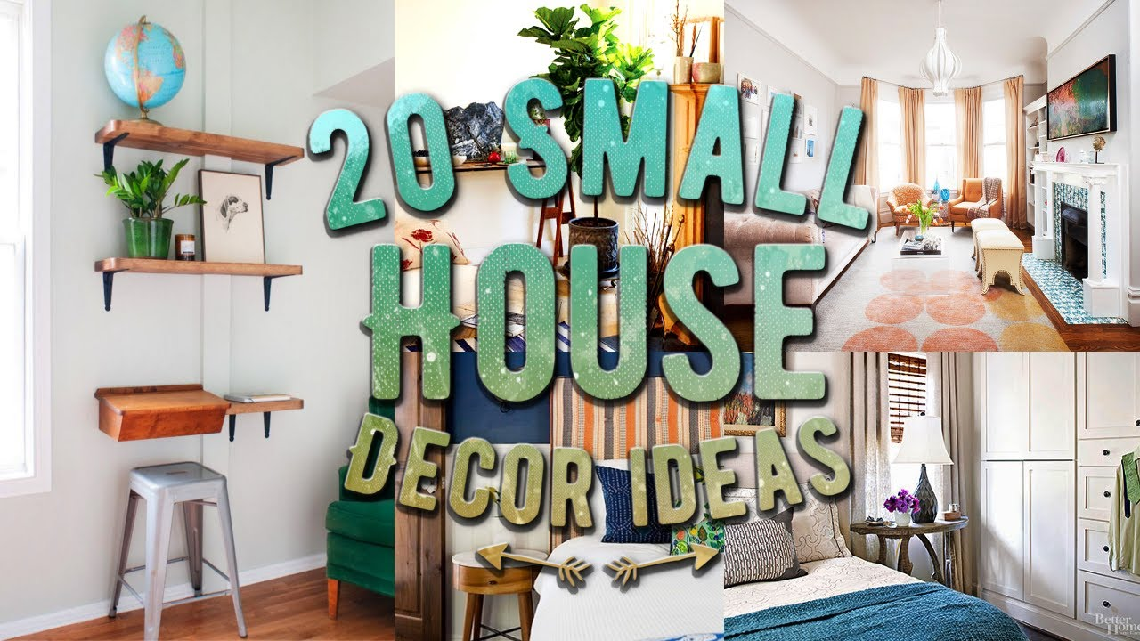 house decorations 20 small house decor ideas ROGFITX