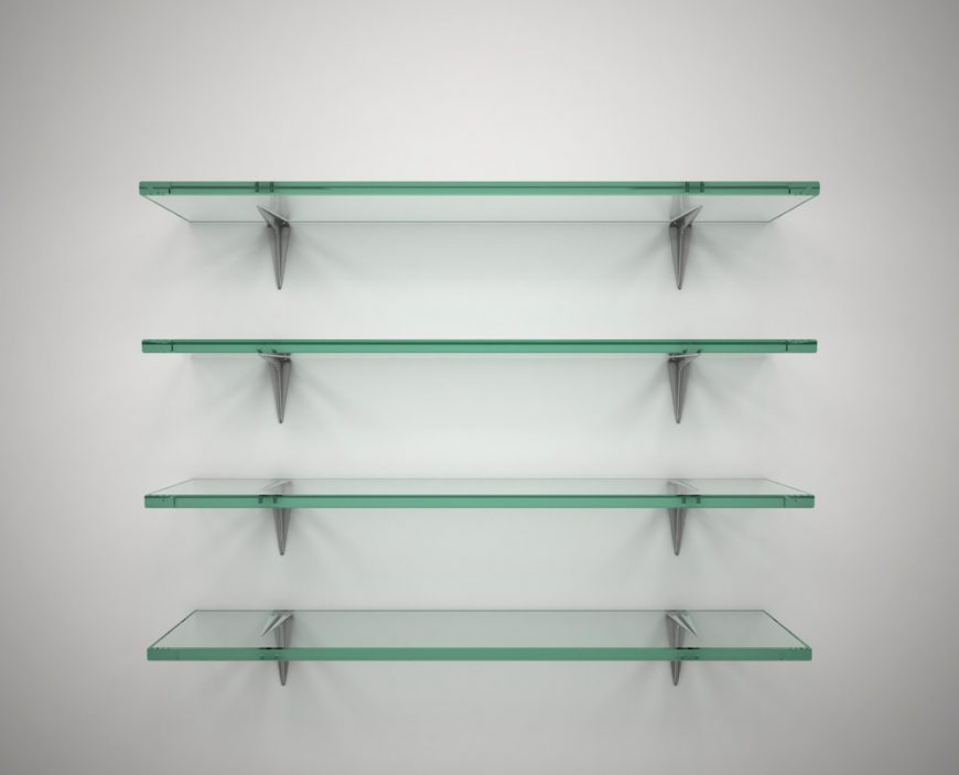 how to make a cheap diy glass shelf at home FVJGOLC