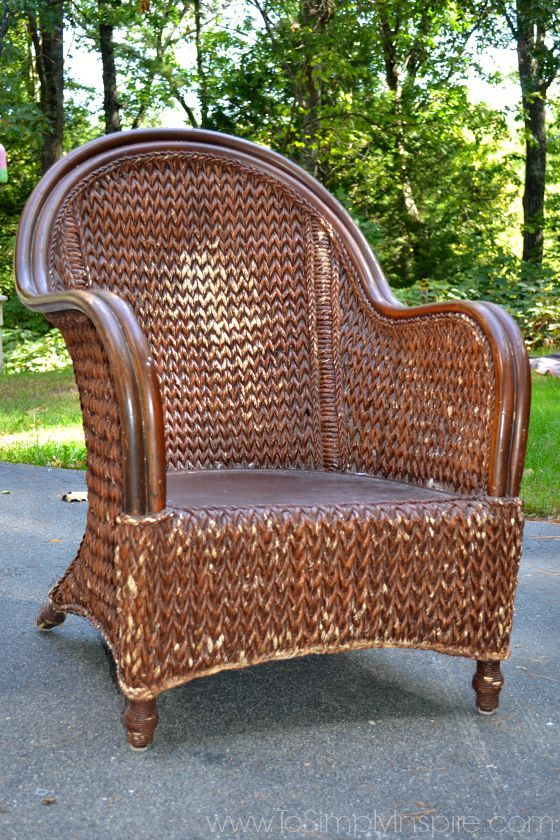 how to paint wicker furniture with a brush1 XOFAIZW