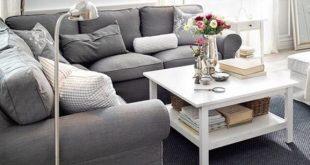ıkea ektorp sofa grey ikea ektorp sofa for a modern living room KWECHFX