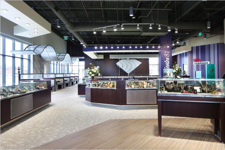 jewelry store commercial interior design RXHLAON