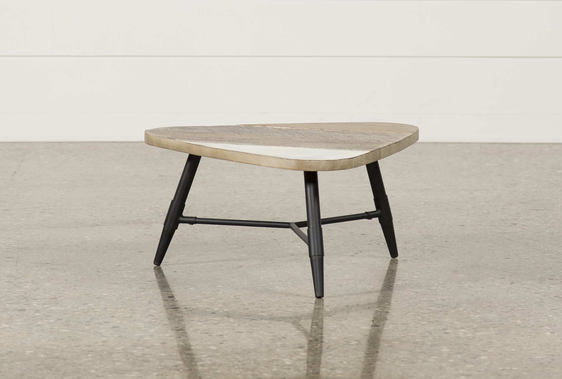 A small coffee table is an ideal choice for a smaller sized living room