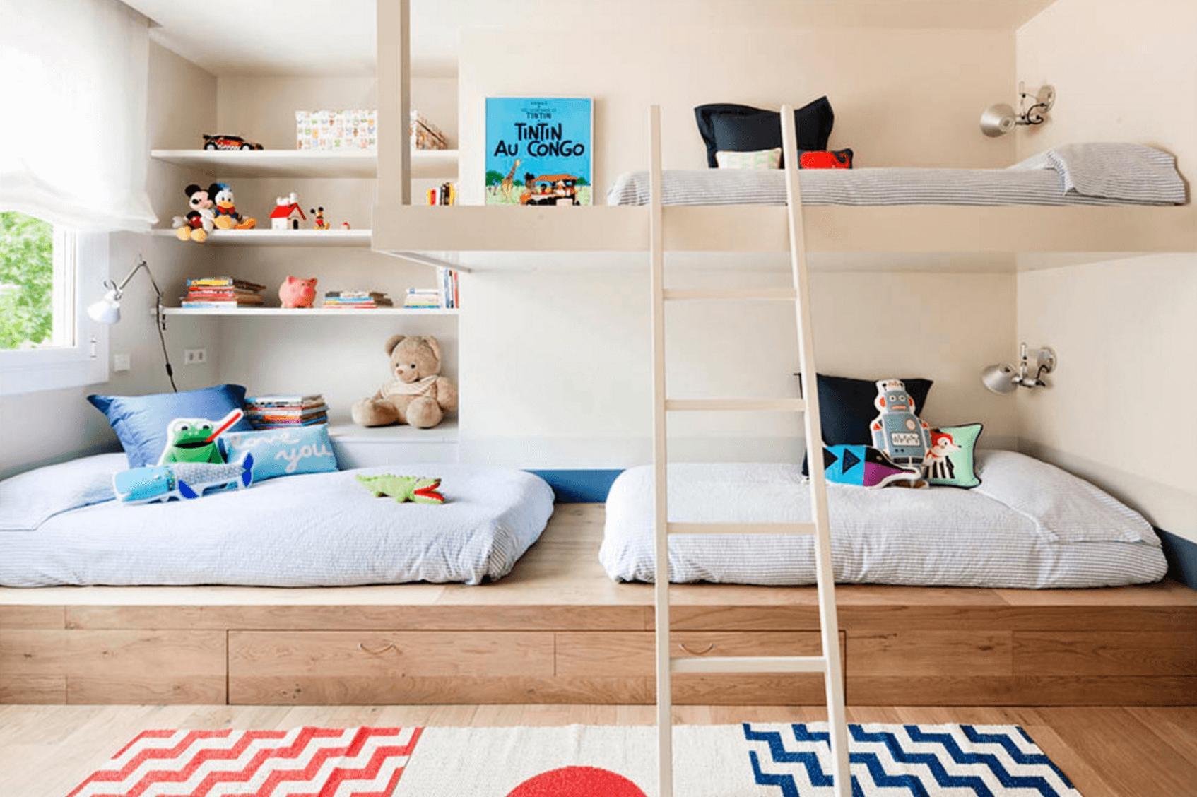 kids bedroom contemporary neutral bedroom FXIKRVN