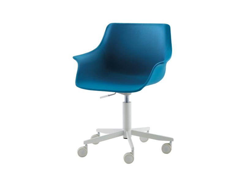 kids desk chairs nidi - leaf upholstered swivel desk chair YHYUJMF