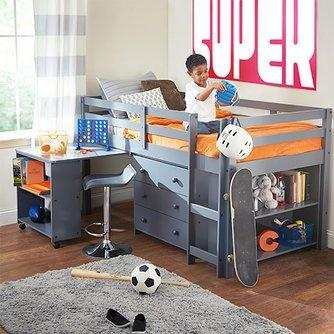 kids loft bed loft beds for kids PPIXSXQ