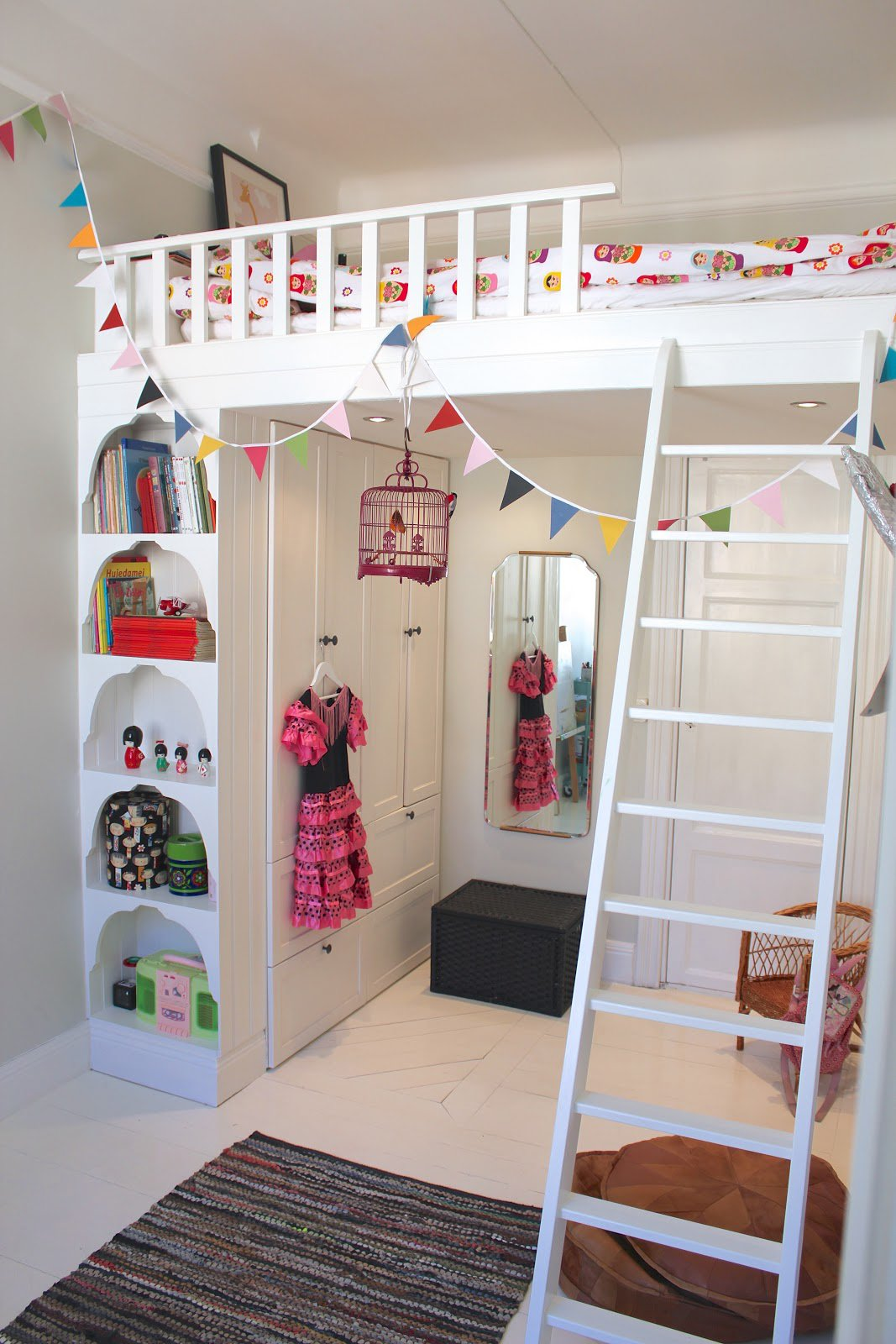 kids loft bed raise the roof: kidsu0027 loft bed inspiration | apartment therapy OJTSHZK