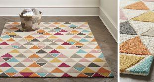 kids rug gallery. triangle rug EHNJFXZ