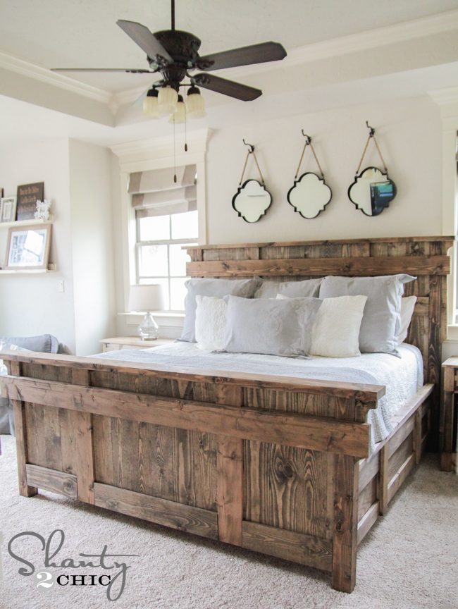 king size headboard king bed diy by shanty2chic free woodworking plans FQABFAM