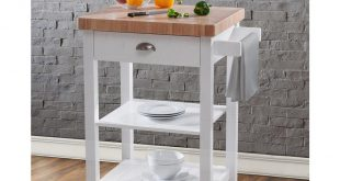 kitchen carts hampton bay bedford white kitchen cart with butcher block top IBAPKGO