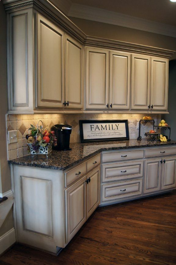 kitchen cupboard paint ideas antique-white-kitchen-cabinets-after-glazing.jpg | home/living | pinterest  | white appliances, tile patterns OJVNXQP