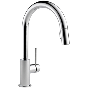 kitchen faucet pull-down kitchen faucets in chrome NHEJJTX