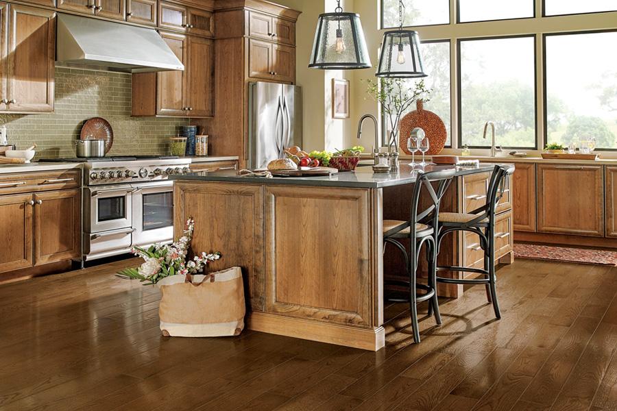 kitchen floors solid hardwood flooring for kitchen - paragon collection sakp59h202 ZHSVFNL
