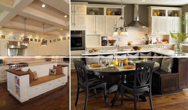 kitchen island with seating 19 must-see practical kitchen island designs with seating OJBFKCZ