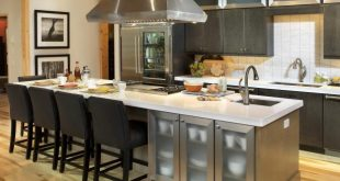 kitchen island with seating 2011 hgtv dream home kitchen with center island DCYCXTV