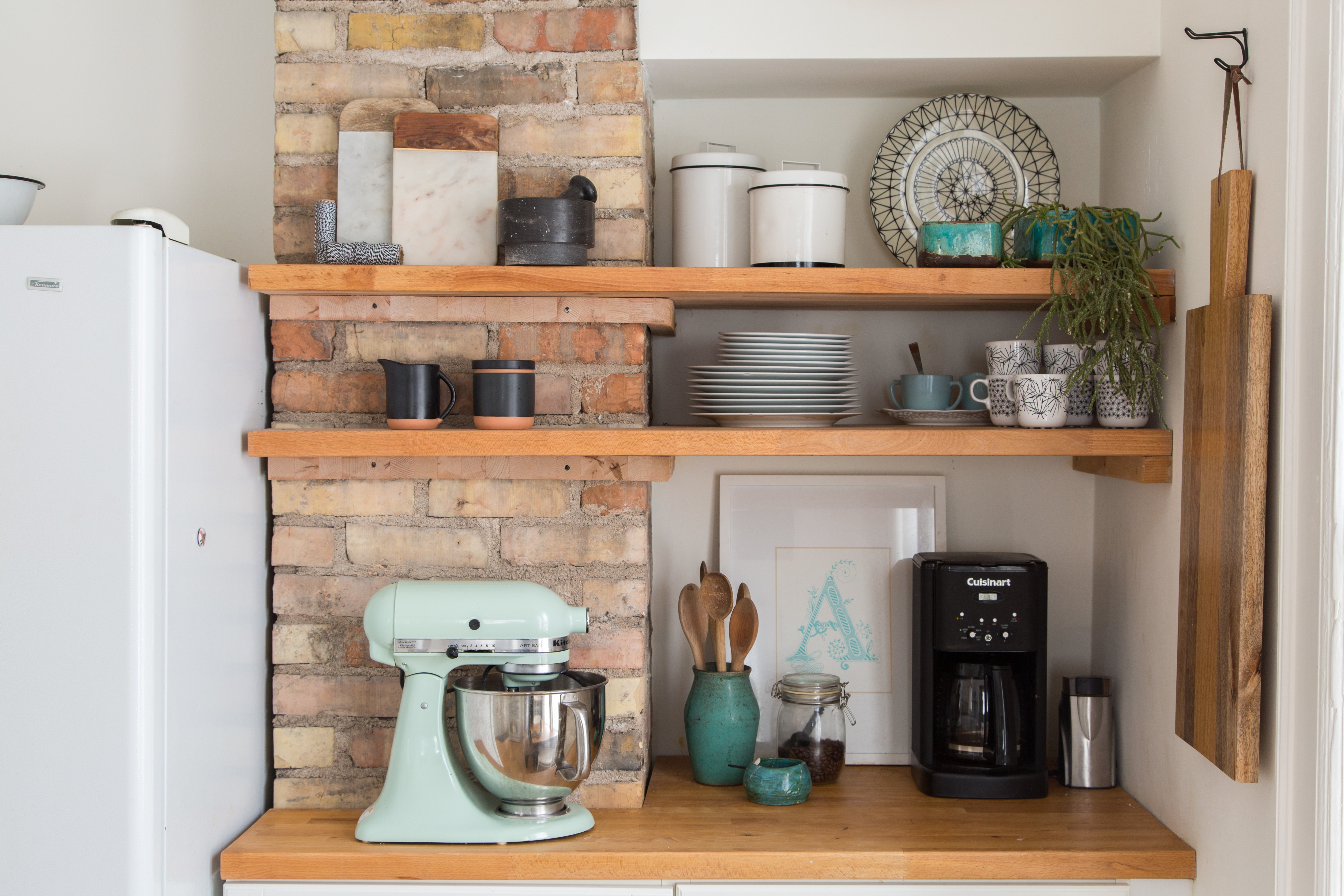 kitchen shelves 5 of the most gorgeous tiny kitchens with open shelving | OCPLILX