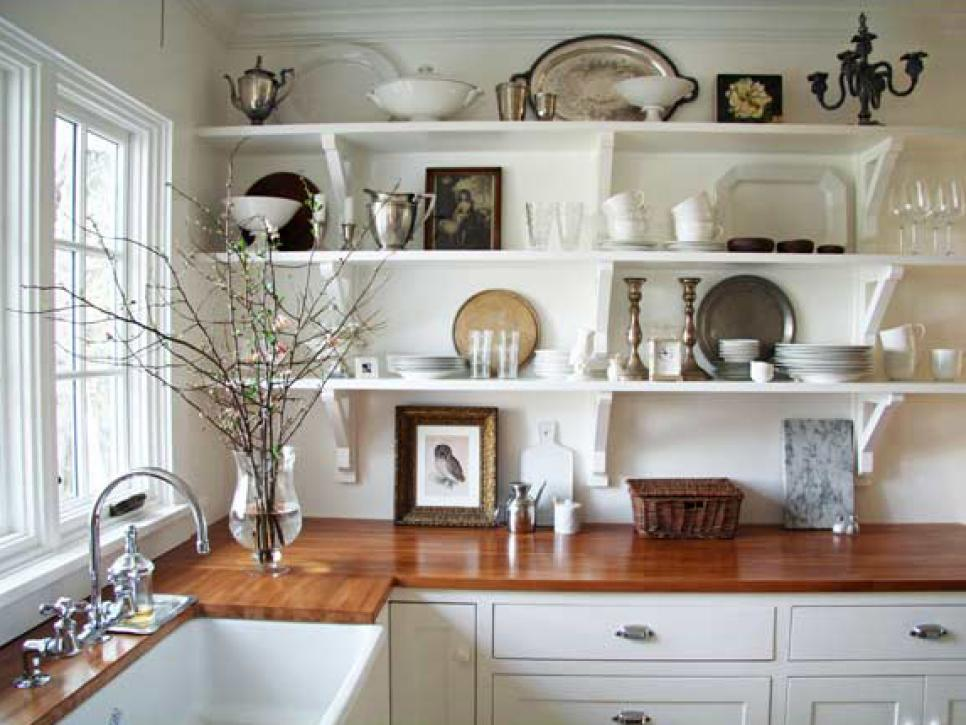 kitchen shelves design ideas for kitchen shelving and racks | diy WYWYQMD