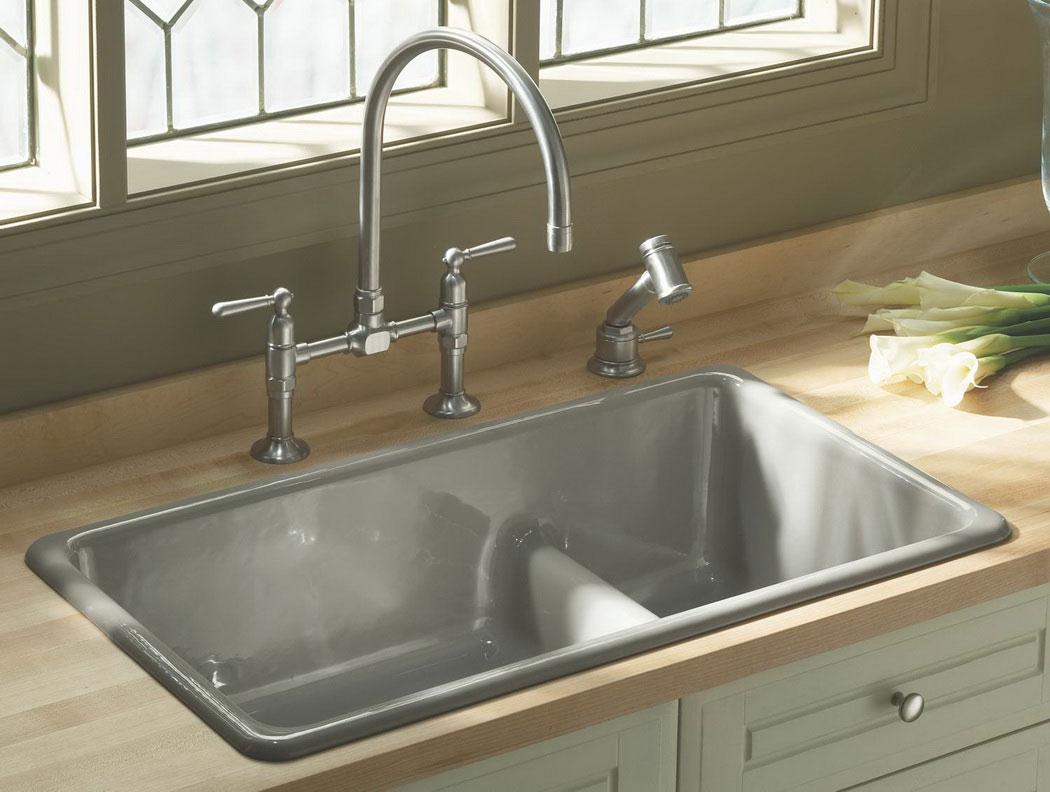 Sink Designs For Kitchen Part - 20: Kitchen Sinks Designs Modern Double Kitchen Sink Ideas 22 Epic With Double Kitchen  Sink EEPRFEB