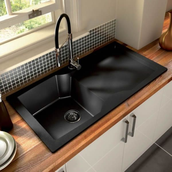 kitchen sinks designs top 15 black kitchen sink designs stainless steel kitchen black kitchen NHYQVWK