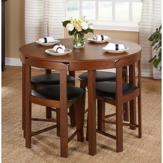 kitchen table and chairs simple living 5pc tobey compact dining set XWOGWZA