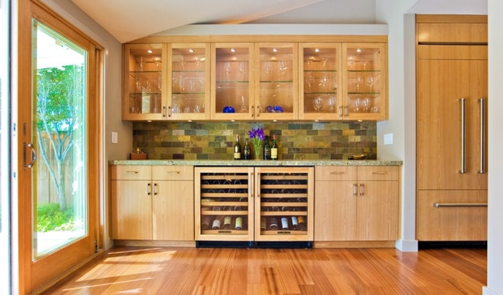 Unique Kitchen Wall Cabinets With Glass Doors Decorating Ideas