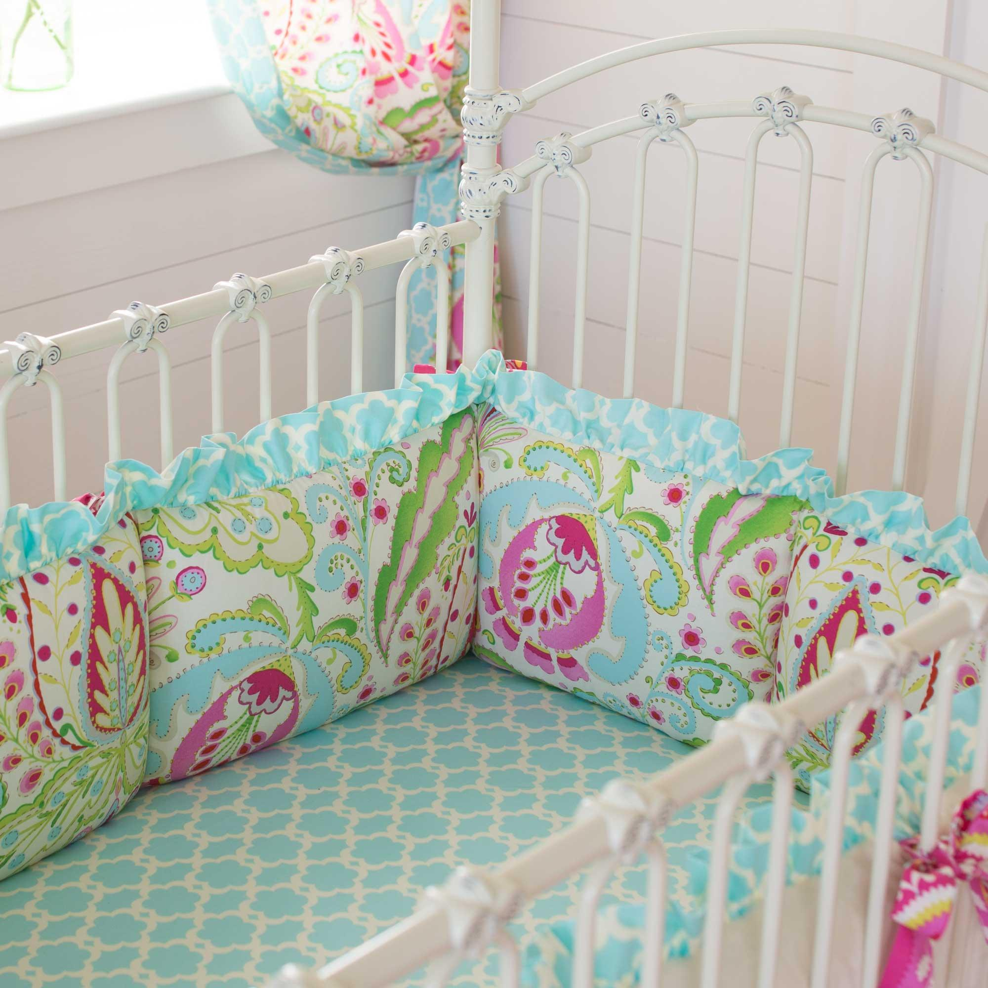 Crib Bumper To Ensure Infant S Safe And Sound Sleep