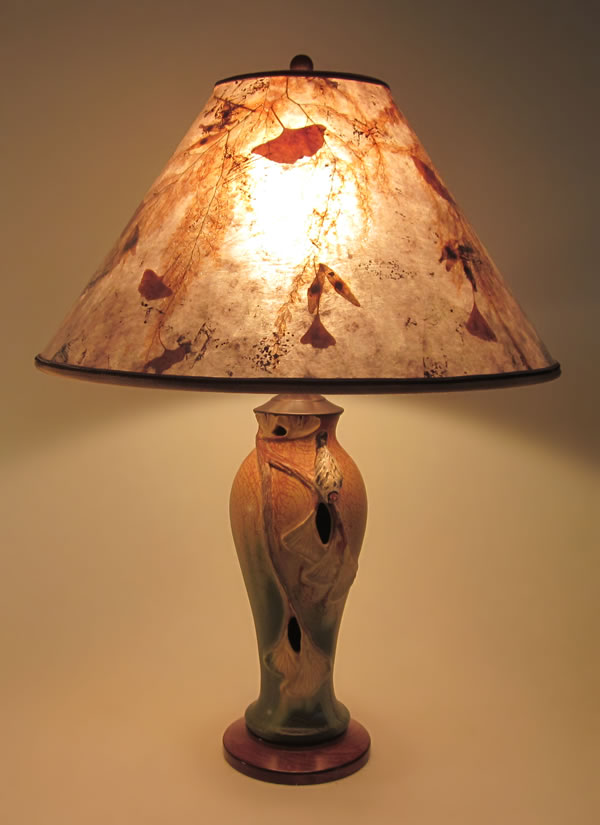 lamp shade autumn visitor table lamp ... YGWEIAN