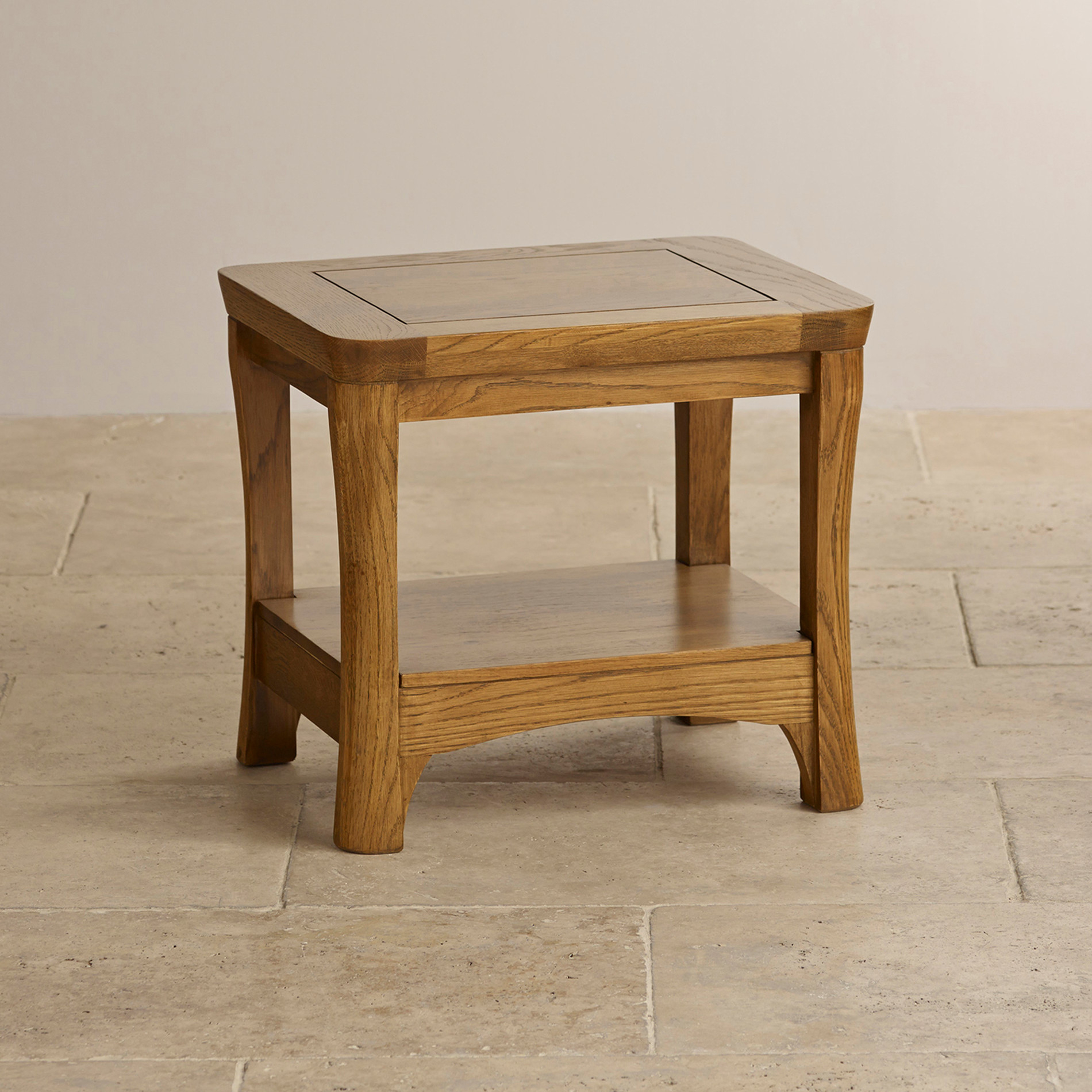 lamp tables orrick lamp table in rustic solid oak | oak furniture land HVBTDMA