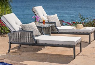 lawn furniture chaise lounges PBCYBKV