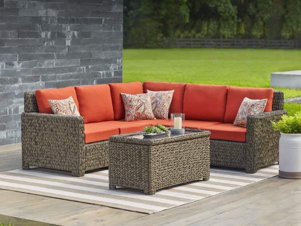 lawn furniture patio conversation sets UYHWMGE