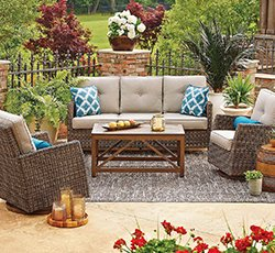 lawn furniture shop patio furniture sets QETKACS