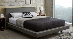 leather beds diaz grey faux leather bed frame | dreams PFSBJZJ