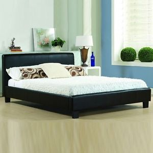 leather beds image is loading cheap-bed-frame-double-king-size-leather-beds- WTFDDRH