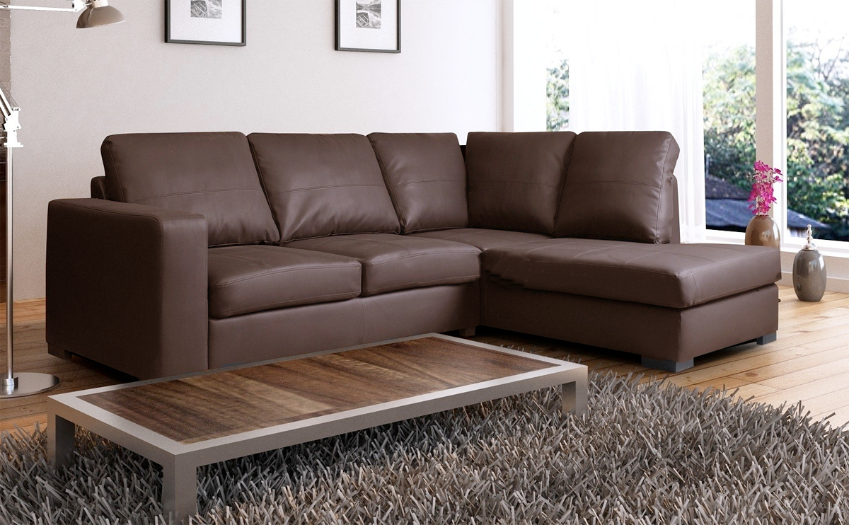 leather corner sofa wellington brown leather corner rh NNFEBFZ