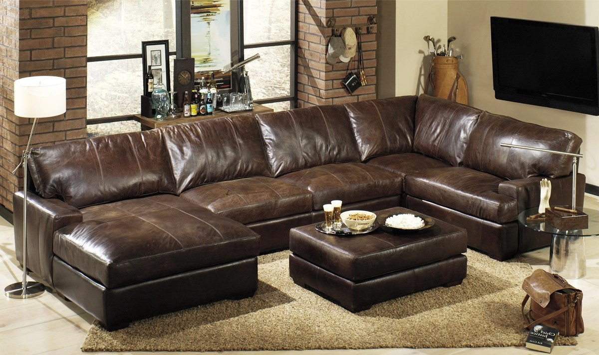 leather sectional sofas wonderful leather sectional sofa WJEHCRN
