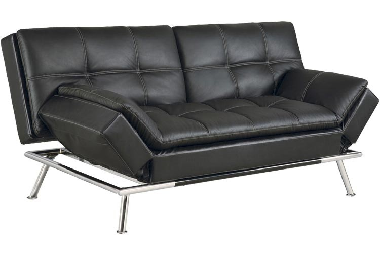 leather sofa bed matrix_modern_convertible_futon_sofa_bed_sleeper_black  matrix_modern_convertible_futon_sofa_bed_sleeper_black_lrg WEIKGHP