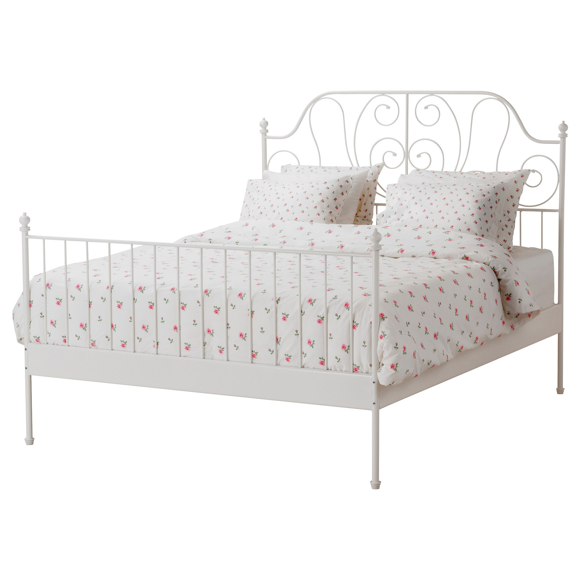 leirvik bed frames a leirvik bed frame helps create a classic, warm and inviting BQSAUKX