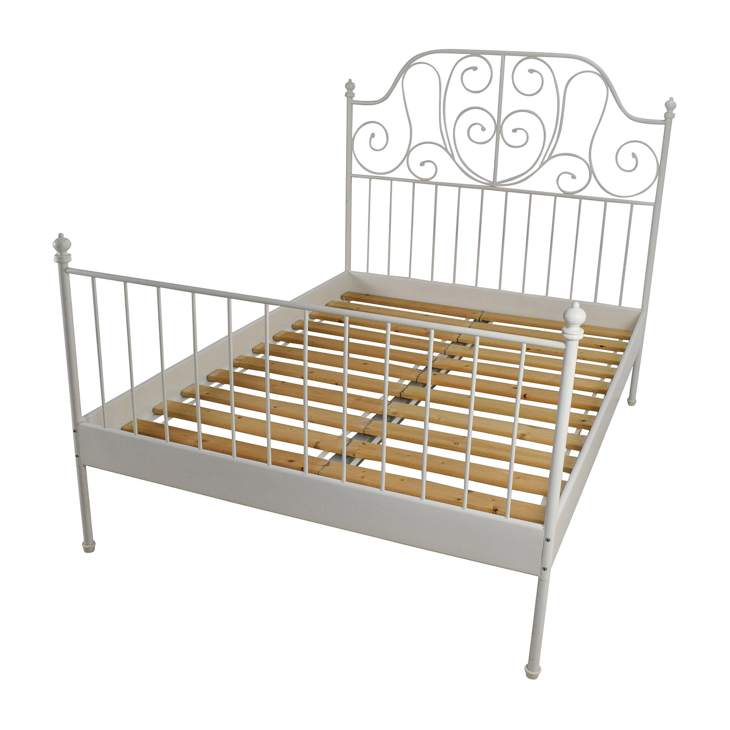 leirvik bed frames ... this bed frame might be just right for you. in YXKTUUL