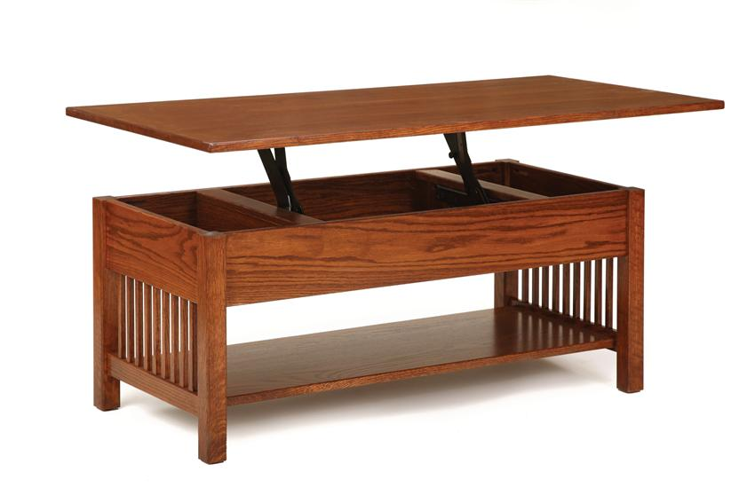 lift top coffee table classic mission rectangular coffee table with lift top CWPYFXD