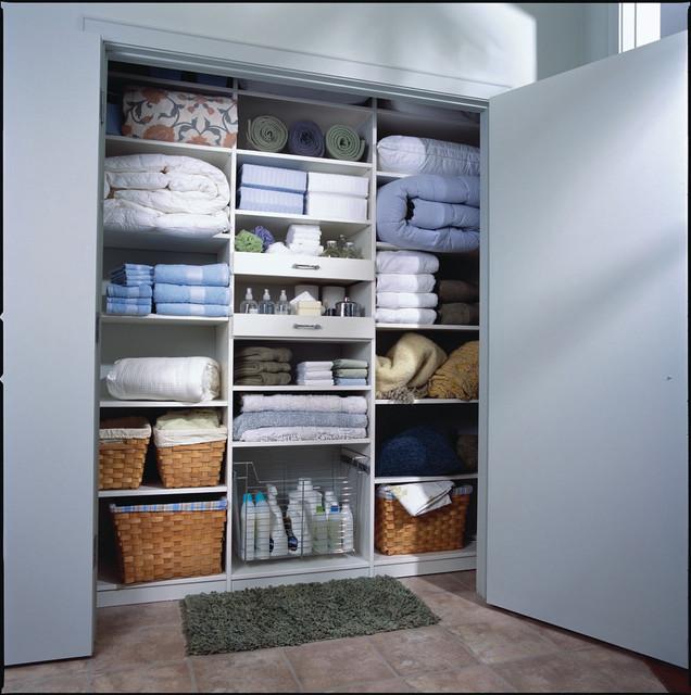 linen closets linen closet - eastchester, ny contemporary-closet EDHWKVY