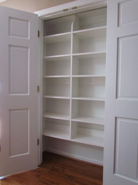 linen closets reach-in closet for linens QECBKXL