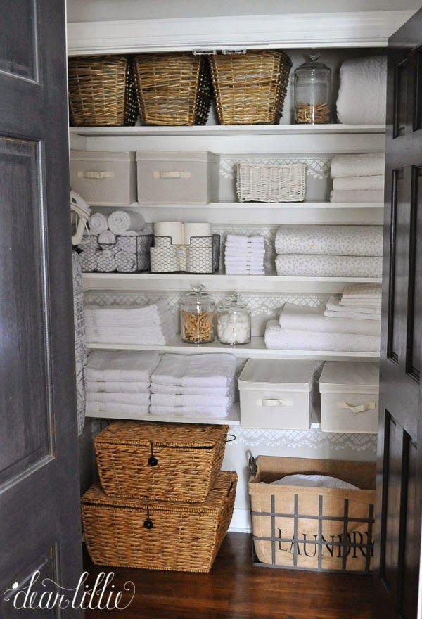 Linen Closets Salt U0026 Life Blog: Staying Organized #organized #closet  #declutter #